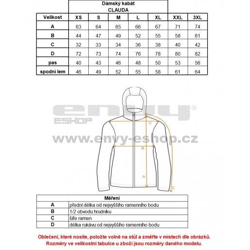 Dámská softshellová bunda ALPINE PRO CLAUDA LJCK227 ČERNÁ