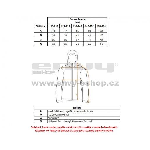 Chlapecká zimní bunda NORDBLANC BOLT NBWJK6467L ČERNÁ