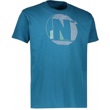 Pánské triko NORDBLANC HATCH NBFMT6543 BAKOVA MODRÁ
