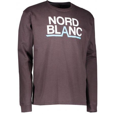 Pánské triko NORDBLANC RADIX NBFMT6550 TEMNĚ HNĚDÁ