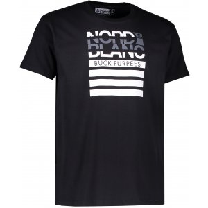 Pánské triko NORDBLANC BUCK NBFMT6542 ČERNÁ