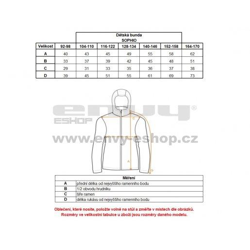 Dětská zimní bunda ALPINE PRO SOPHIO KJCK072 TMAVĚ MODRÁ