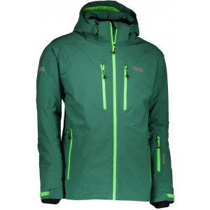 Pánská lyžařská bunda NORDBLANC ARMOR NBWJM6403 ZELENÁ NADĚJE