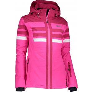 Dámská lyžařská bunda NORDBLANC MOTLEY NBWJL6420 RŮŽOVÁ ZÁŘE