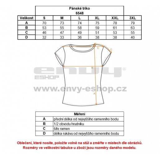 Pánské triko NORDBLANC CHARACTER NBFMT6548 BAKOVA MODRÁ