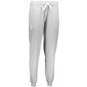 Dámské kalhoty na jógu NORDBLANC REIN NBFPL6539 SVĚTLE ŠEDÝ MELÍR