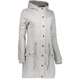 Dámský kabát ALPINE PRO MORGANA LCTK045 TMAVĚ ŠEDÁ