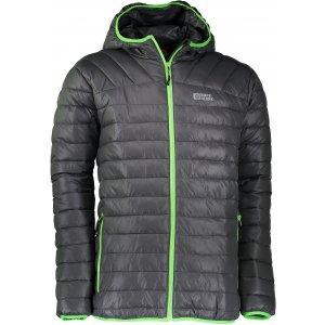 Pánská zimní bunda NORDBLANC QUILT NBWJM6410 ŠEDÁ