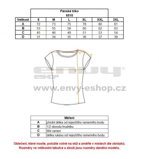 Pánské sportovní triko NORDBLANC MOTIVE NBFMF6510 BEZPEČNÁ ŽLUTÁ