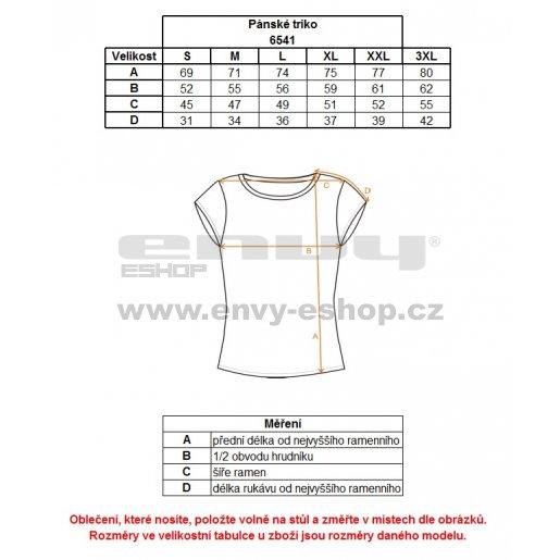 Pánské triko NORDBLANC ADRENALINE NBFMT6541 BAKOVA MODRÁ