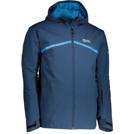 Pánská zimní bunda NORDBLANC ROOF NBWJM6408 ŽELEZNÁ MODRÁ