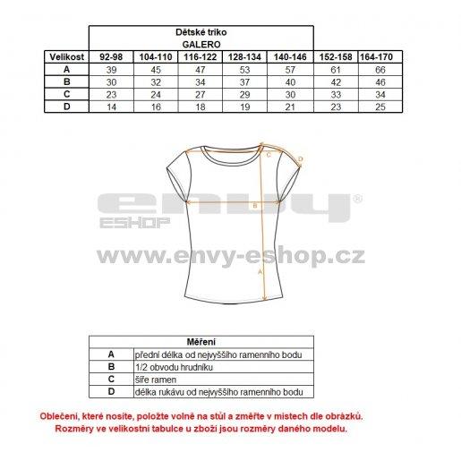 Dívčí triko ALPINE PRO GALERO KTSK085 RŮŽOVÁ