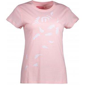 Dámské tričko NORDBLANC PLUME NBFLT6563 SVĚTLE RŮŽOVÁ