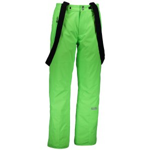 Pánské lyžařské kalhoty NORDBLANC GALLOP NBWP6435 ZELENÁ JEŠTĚRKA