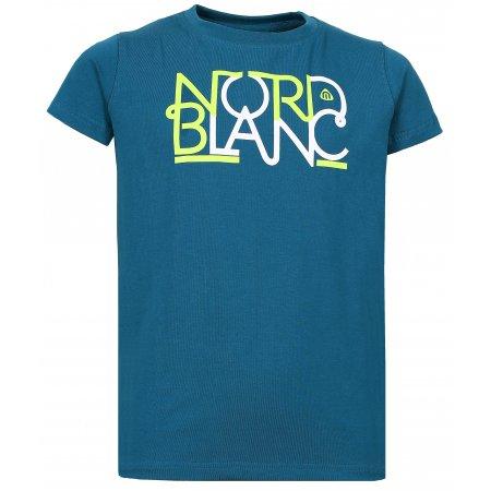 Dívčí tričko NORDBLANC THREAD NBFKT6574S BAKOVA MODRÁ