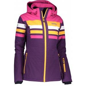 Dámská lyžařská bunda NORDBLANC MOTLEY NBWJL6420 MOTLEY FIALOVÁ