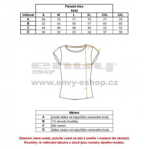 Pánské triko NORDBLANC DELETE NBFMT6544 BAKOVA MODRÁ