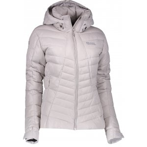 Dámská zimní bunda NORDBLANC LAVISH NBWJL6427 SEVERNÍ ŠEDÁ