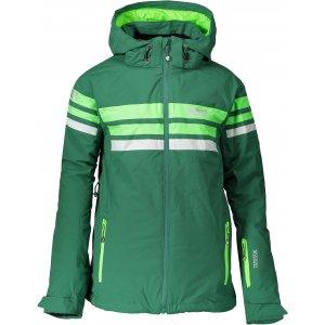 Chlapecká zimní bunda NORDBLANC GLAD NBWJK6465L ZELENÁ NADĚJE