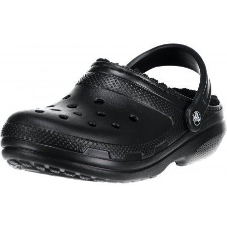 Dámské pantofle CROCS CLASSIC LINED CLOG 203591-060 BLACK/BLACK