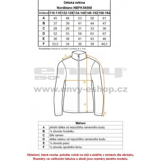 Chlapecká mikina NORDBLANC METTLE NBFKS6568S SVĚTLE ŠEDÝ MELÍR