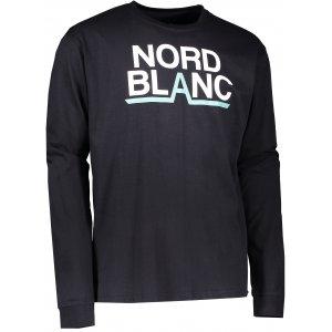 Pánské triko NORDBLANC RADIX NBFMT6550 ČERNÁ