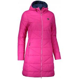 Dámský zimní kabát NORDBLANC TINT NBWJL6428 TMAVĚ RŮŽOVÁ