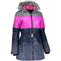 Dámská zimní bunda ALPINE PRO MARRIOTA LJCK168 TMAVĚ MODRÁ