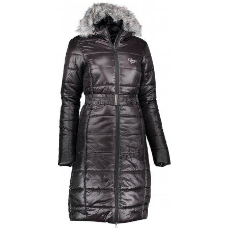 Dámský kabát ALPINE PRO MOI LCTK042 ČERNÁ