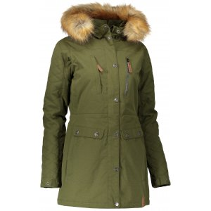 Dámská zimní bunda NORDBLANC FLUFF NBWJL6434 KHAKI