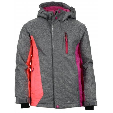 Dětská lyžařská bunda ALPINE PRO WIREMO 2 KJCK081 RŮŽOVÁ
