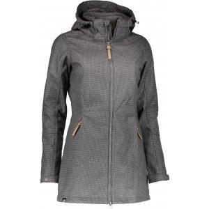 Dámský softshellový kabát ALPINE PRO MAMIA LCTK057 SVĚTLE ŠEDÁ