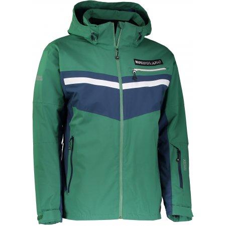 Pánská lyžařská bunda NORDBLANC SWORD NBWJM6401 ZELENÁ NADĚJE