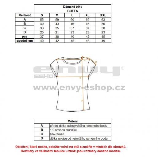 Dámské tričko s krátkým rukávem ALPINE PRO BUFFA LTSJ333 RŮŽOVÁ