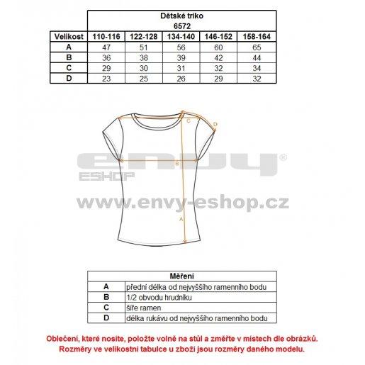 Dívčí tričko NORDBLANC THREAD NBFKT6574S ČERNÁ