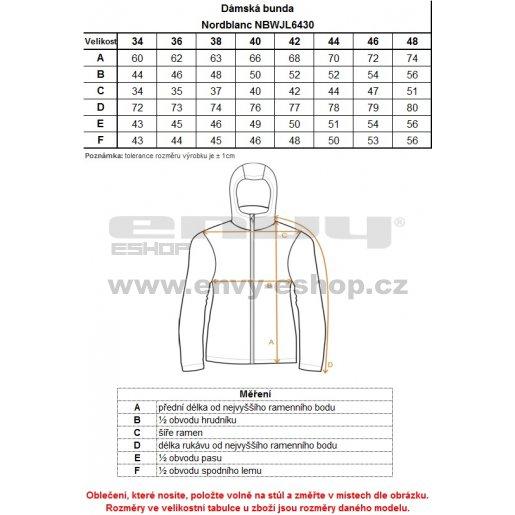Dámská zimní bunda NORDBLANC SAVOR NBWJL6430 TYRKYSOVÁ