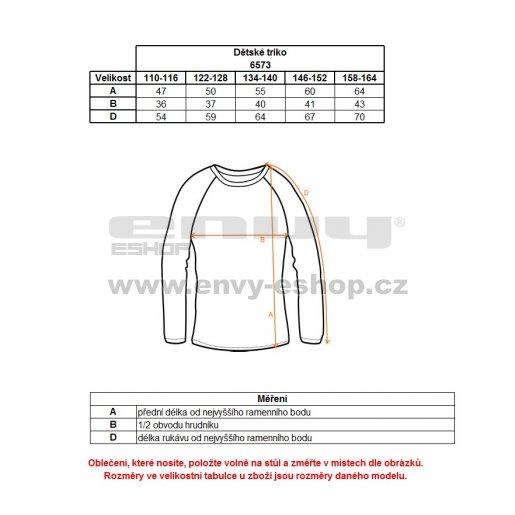 Dívčí tričko NORDBLANC EDEN NBFKT6573S ČERNÁ
