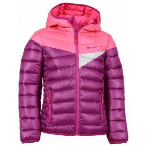 Dětská zimní bunda ALPINE PRO SOPHIO KJCK072 RŮŽOVÁ