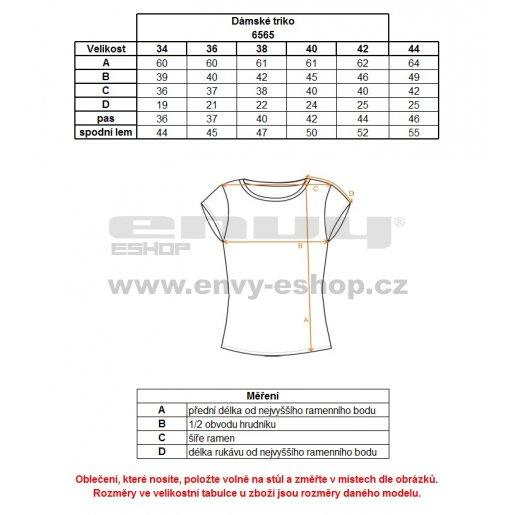 Dámské tričko NORDBLANC VACANT NBFLT6565 ČERVENÁ MALINA