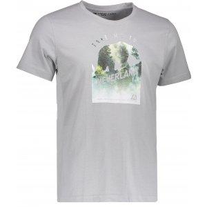 Pánské triko s krátkým rukávem ALPINE PRO TIBERIO 5 MTSK222 TMAVĚ ŠEDÁ