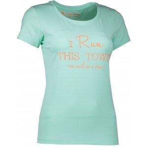 Dámské tričko s krátkým rukávem ALPINE PRO BUFFA LTSJ333 MODRÁ