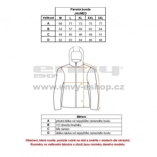 Pánská softshellová bunda ALPINE PRO JAUMET MJCK252 ČERNÁ