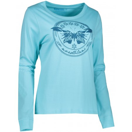 Dámské tričko NORDBLANC FLY NBFLT6556 TYRKYSOVÁ