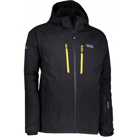 Pánská lyžařská bunda NORDBLANC ARMOR NBWJM6403 ČERNÁ