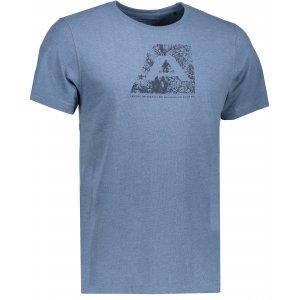 Pánské triko s krátkým rukávem ALPINE PRO TIBERIO 5 MTSK222 MODRÁ