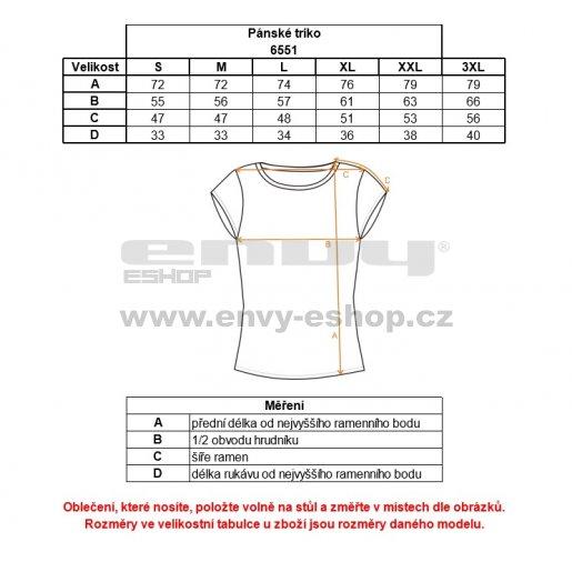 Pánské triko NORDBLANC PROFILE NBFMT6551 HLUBOCE ČERVENÁ