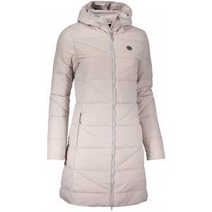 Dámský zimní kabát NORDBLANC TINT NBWJL6428 SEVERNÍ ŠEDÁ