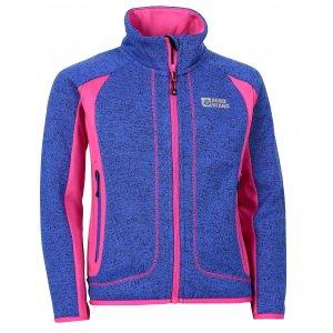 Dívčí sportovní svetr NORDBLANC NEEDY NBWFK6584L MODRÁ NAMIBIE