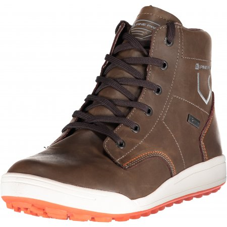 Pánské kotníkové outdoor boty ALPINE PRO TILL MBTK119 HNĚDÁ