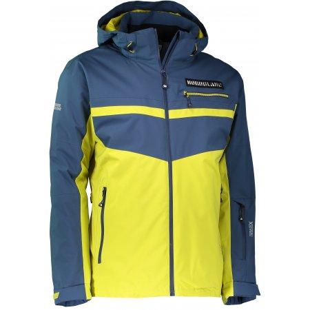 Pánská lyžařská bunda NORDBLANC SWORD NBWJM6401 MECHOVĚ ZELENÁ
